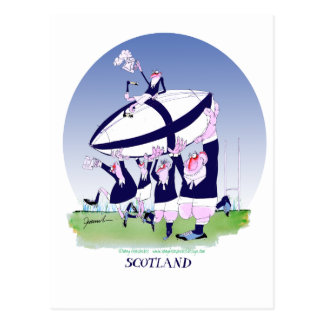 scottish rugby cheers, tony fernandes postcard