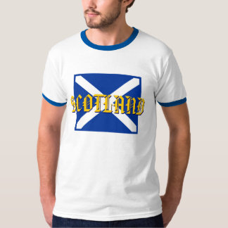 Scottish Saltire Flag of Scotland T-Shirt