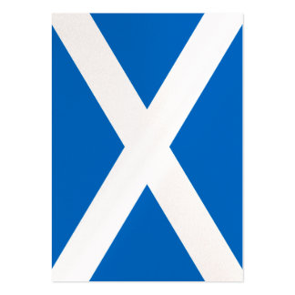 Scottish Scotland Flag Pack Of Chubby Business Cards