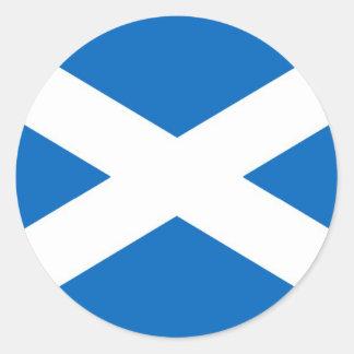 Scottish Scotland Round Sticker