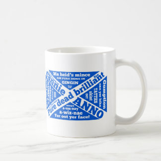 Scottish slang and phrases basic white mug