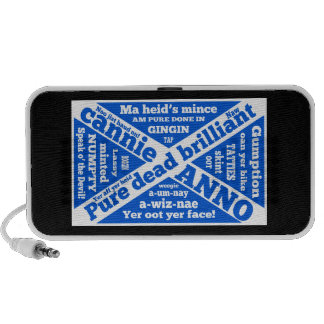 Scottish slang and phrases portable speakers