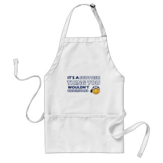 Scottish Smiley Designs Aprons