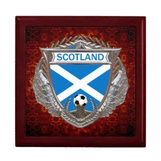 Scottish Soccer Large Square Gift Box
