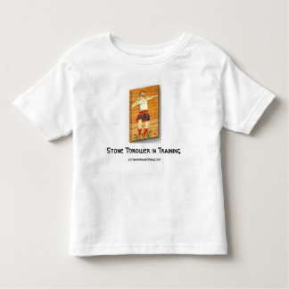 Scottish Stone Thrower in Training Shirts