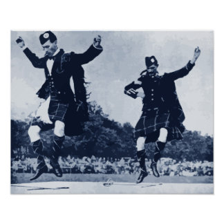 Scottish Sword Dance Poster