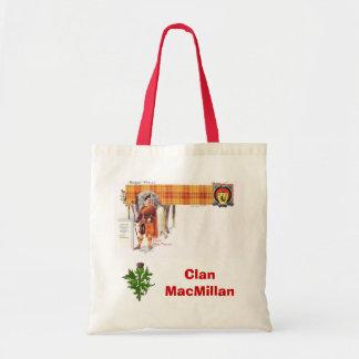 Scottish Tartan, Clan MacMillan Budget Tote Bag