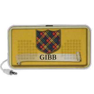 Scottish Tartan design - Gibb iPod Speaker