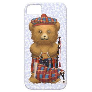 Scottish Teddy Bear  - Light blue iPhone 5 Case