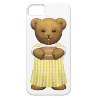Scottish Teddy Bear  - white Case For The iPhone 5