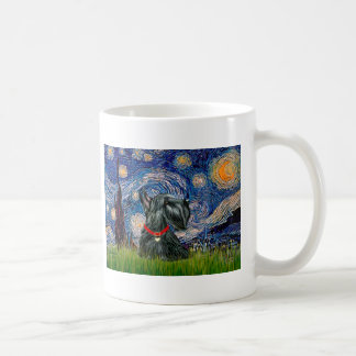 Scottish Terrier 12c -Starry Night Coffee Mug