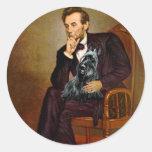 Scottish Terrier 3 - Lincoln Sticker