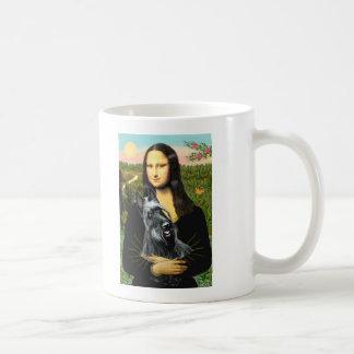 Scottish Terrier 3 - Mona Lisa Coffee Mug