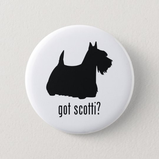 Scottish Terrier 6 Cm Round Badge
