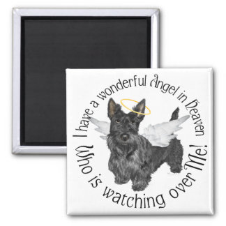 Scottish Terrier Angels Fridge Magnet
