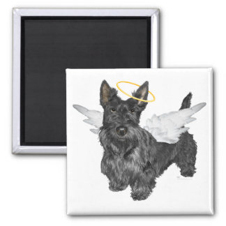 Scottish Terrier Angels Magnet