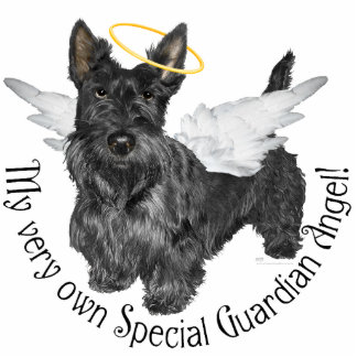 Scottish Terrier Angels Standing Photo Sculpture