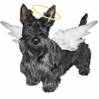 Scottish Terrier Angels Cut Outs
