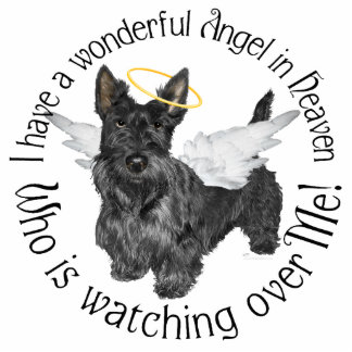 Scottish Terrier Angels Cut Out