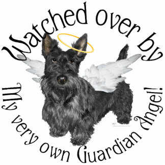 Scottish Terrier Angels Photo Cut Outs
