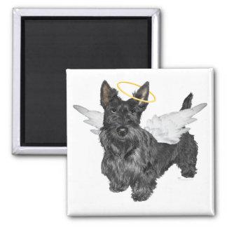 Scottish Terrier Angels Square Magnet
