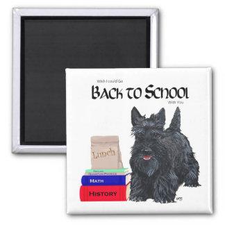 Scottish Terrier Back to School Fridge Magnet