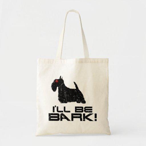 Scottish Terrier Canvas Bag