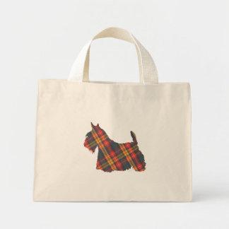 Scottish Terrier Buchanan Tartan Bags