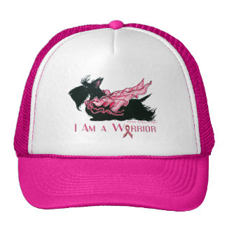 Scottish Terrier Cancer Warrior Cap