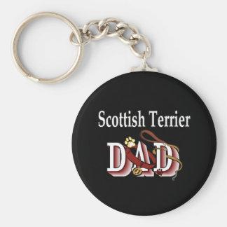 scottish terrier dad Keychain