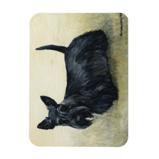 Scottish Terrier Dog Art Magnet