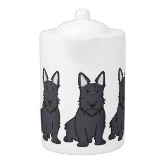 Scottish Terrier Dog Cartoon