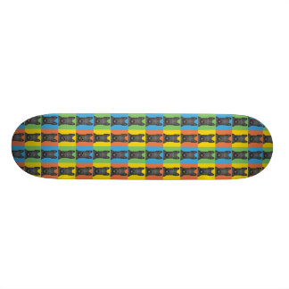 Scottish Terrier Dog Cartoon Pop-Art Skate Deck