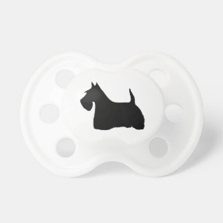 Scottish Terrier dog cute silhouette baby soother