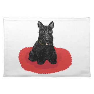Scottish Terrier Dog Placemats