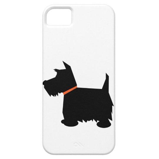 Scottish Terrier dog silhouette iphone 5 case