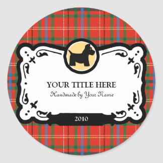 Scottish Terrier Gift Labels