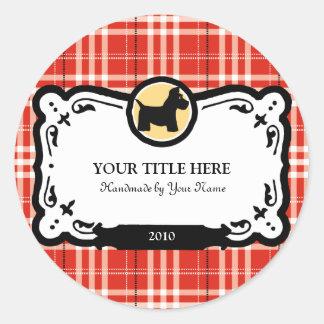 Scottish Terrier Gift Labels