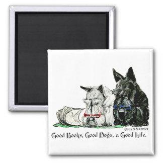 Scottish Terrier Good Life Magnet