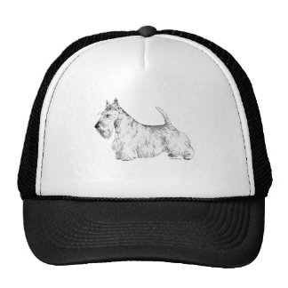 Scottish Terrier Mesh Hat