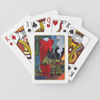 Scottish Terrier Laird Dog Playing Cards Poker Deck
