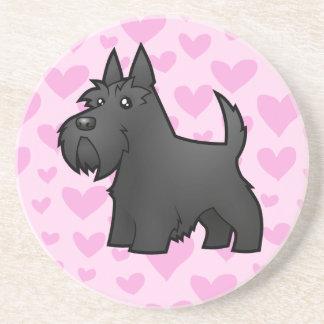 Scottish Terrier Love Coaster