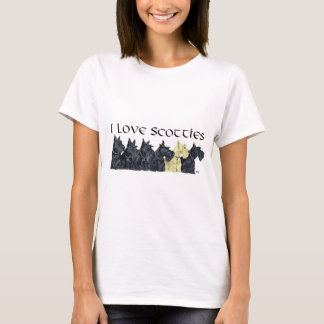 Scottish Terrier Love T-Shirt