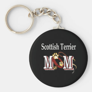 scottish terrier mom Keychain