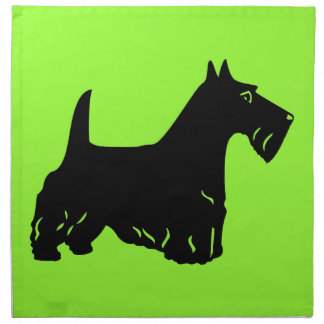 Scottish Terrier Napkin