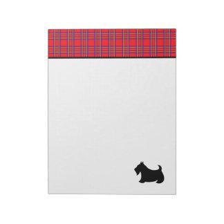 Scottish Terrier Office School Teacher's Notepad