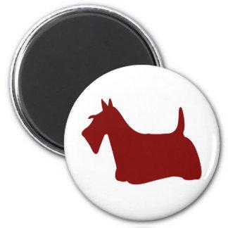 Scottish Terrier (Red) Magnet