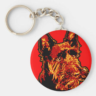 Scottish Terrier (Scottie) Keychain