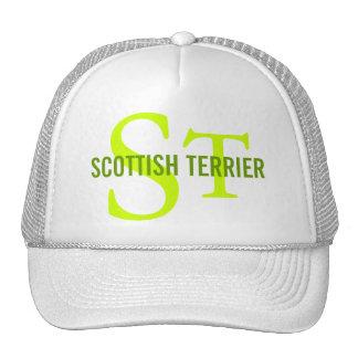 Scottish Terrier (Scottie) Monogram Hats