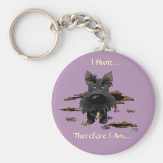 Scottish Terrier (Scotties) I Hunt... Keychain